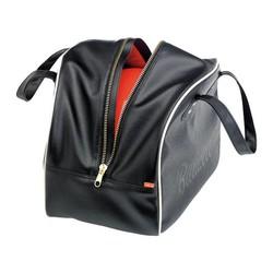 Rover Helmtasche Schwarz / Weiß