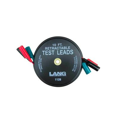 Lang Tools Oprolbare Test Leads 3-delig
