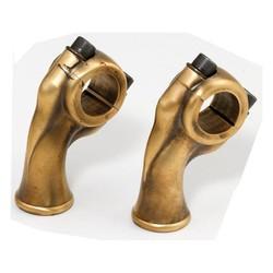 """2.5"""" Brass Deluxe Risers voor 1"""" Sturen"""