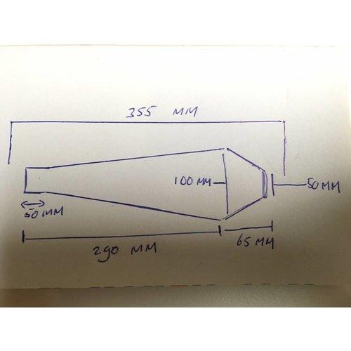 Scrambler Demper RVS 42mm- 51mm