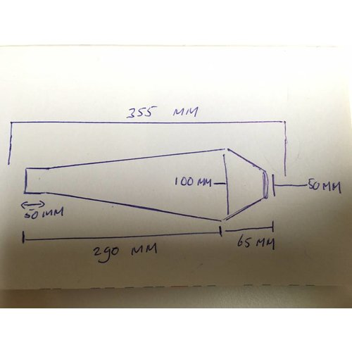 Handgemaakt Scrambler RVS 42mm