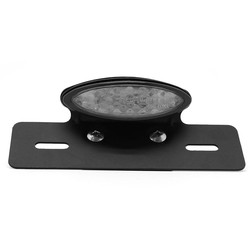 LED Smoke Achterlicht met Kentekenplaathouder