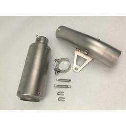 GP Schalldämpfer mit linkpipe Chrome 61mm (BMW S1000RR)