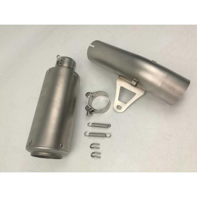 GP Silencer with link pipe (61MM) - BMW S1000RR