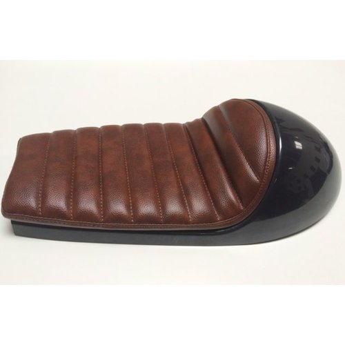 Cafe Racer Classic Seat Brown Thin Padding