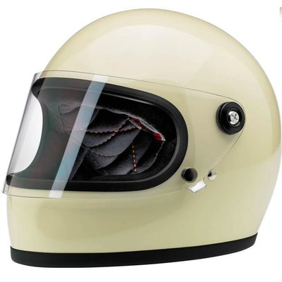 Biltwell Gringo S Vintage White - (with visor)