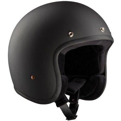 Bandit Casque Jet classique - noir mat (ECE)