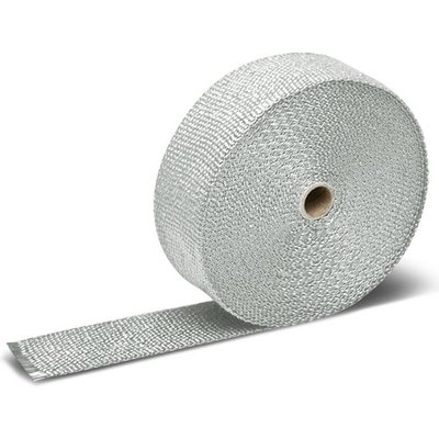MCU 10M Uitlaat Wrap / Exhaust Wrap / Heat Wrap Wit