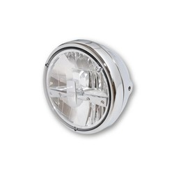 "7"" Clear Chrome Koplamp RENO 3"