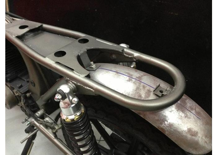 """MCU 1"""" x OD: 237MM Cafe Racer Hoop 180 Graden Subframe Bocht"""