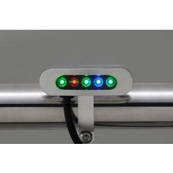 Chrome Kontrole lampen Micro