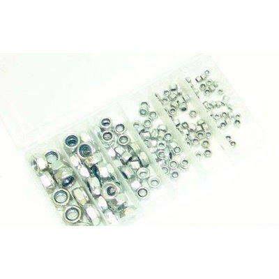 Ensemble de contre-écrous DIN 985 - 150 pièces