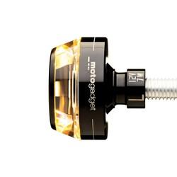 mo.blaze Disc Bar end LED Knipperlicht Zwart  (prijs is voor 1 exemplaar)  (Kies uw kant)