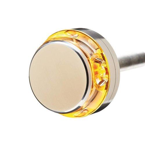 Motogadget mo.blaze Disc Bar end LED knipperlicht Gepolijst