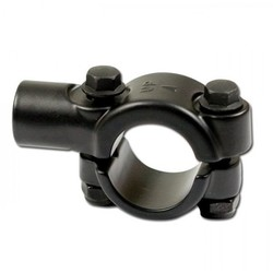 Mirror Black Handlebar Clamp 22 mm M10