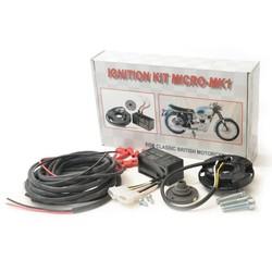 Elektronische Zündung mit Doppel- / Einzylinderspule 12 Volt MK1