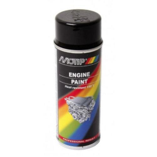 Motip Engine Paint Zwart 400ML