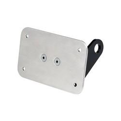 Support de montage latéral pour essieu & support de plaque