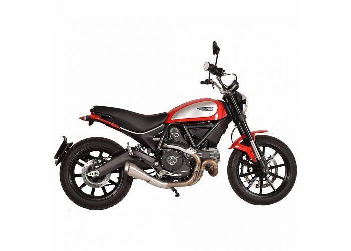 Spark 60´s Slip-On-uitlaat Ducati Scrambler 15 - 16