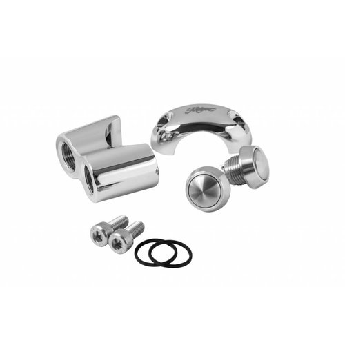 "Motone 2 Button Schakelaar 25.4MM of 1"" Chrome"