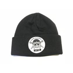 Skull Docker Hat Black