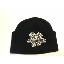 Choppershop Docker Hat Black