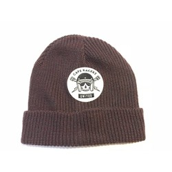 Bonnet Docker Skull pourpre