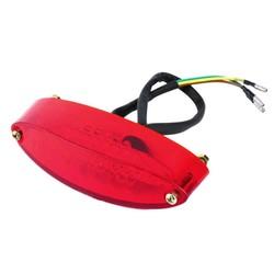 Achterlicht LED Ovaal Rood Type 2