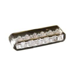 Feu arrière à LED SHORTY, lentille transparente, homologué ECE