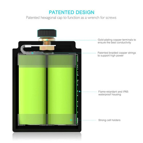 Blast Moto 130CCA Lithium Battery, Small and very powerfull