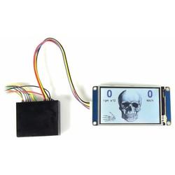 Indicateur de vitesse LCD à écran tactile