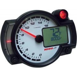 RX2NR + - Tachometer mit Thermometer und Temp. Alarm - Schaltlicht