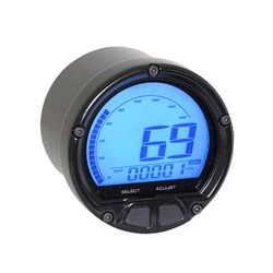(max 160mph / 260kmh) D55 DL-02S Speedometer with LCD Display