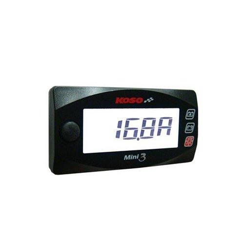 KOSO Ampere & Volt Meter Mini 3 (Met Backlight)