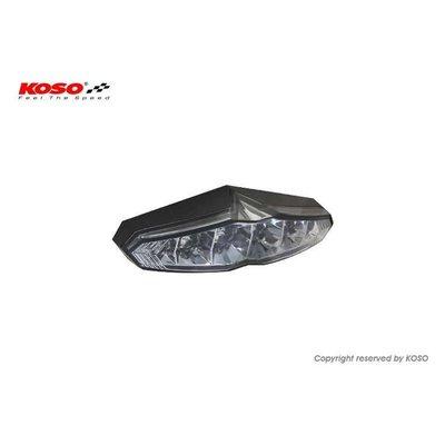 KOSO LED-Rücklicht (mit Kennzeichenbeleuchtung) - Infinity smoke