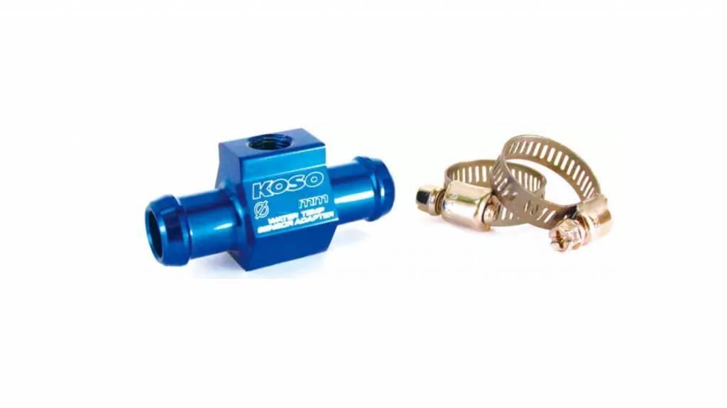 Koso BG022B01 22mm Water Temperature Sensor Adapter