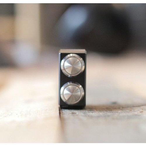 "Motogadget mo.switch 3-knops 1"" zwart/RVS"