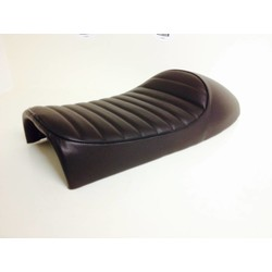 Tuck N' Roll Cafe Racer Seat Coffee Brown 17