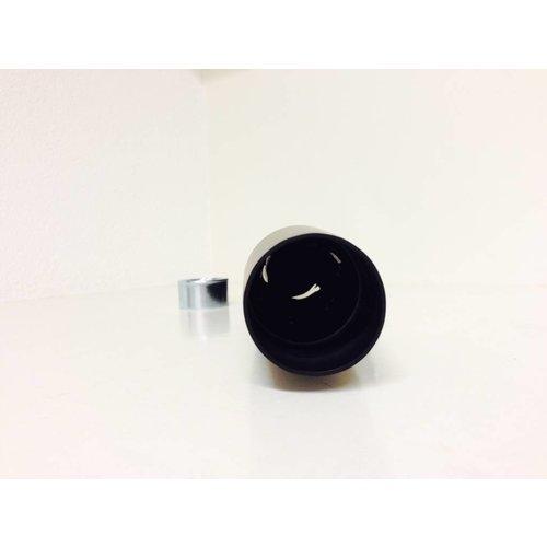 Emgo Tapered Silencer Black Steel 38mm - 44,4mm