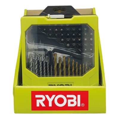 Ryobi Dril & Screw Bits Set (69-pieces) RAK69MIX