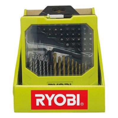 Ryobi Kit perceuse avec embouts (69 pièces) RAK69MIX