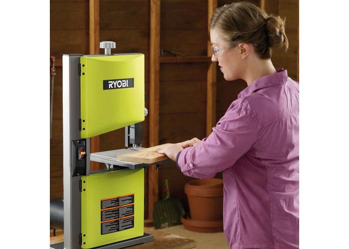 Ryobi Band sawing machine 350W with work light RBS904