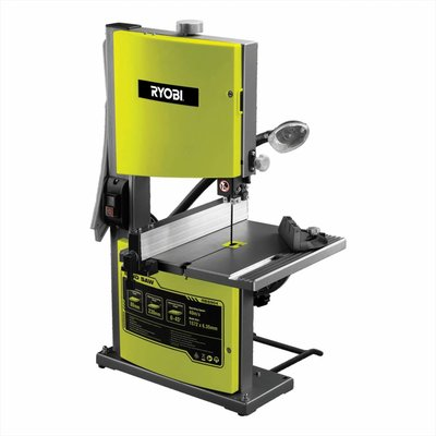 Ryobi Bandsägemaschine 350W mit Arbeitsleuchte RBS904