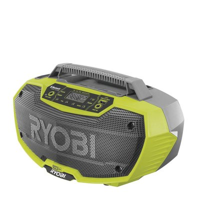 Ryobi ONE + 2 Lautsprecher Radio mit Bluetooth R18RH-0 *Body Only*