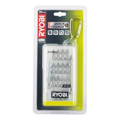 Ryobi Set Screw Bits (28 pieces) RAK28SD