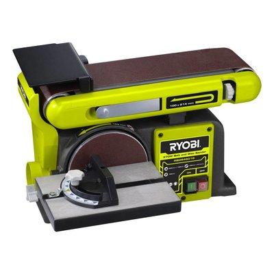 Ryobi Ponceuse à disque et à bande 375W RBDS4601G
