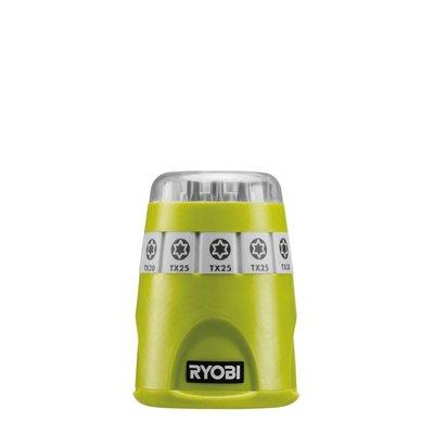 Ryobi Set Torx bits with magnetic bit holder + Clip Strip with S hook RAK10TSD