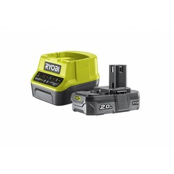 ONE + 1 x 18V 2.0Ah Lithium Batterie 2,0 A + Ladegerät