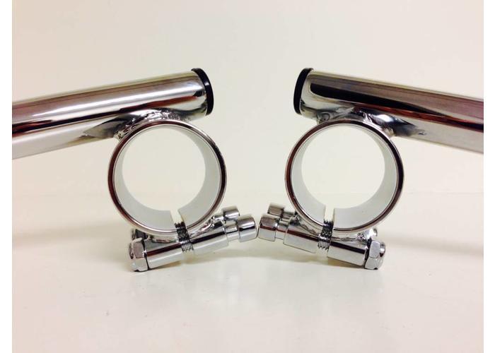 Emgo 35MM Chrome Clipons Honda CB etc