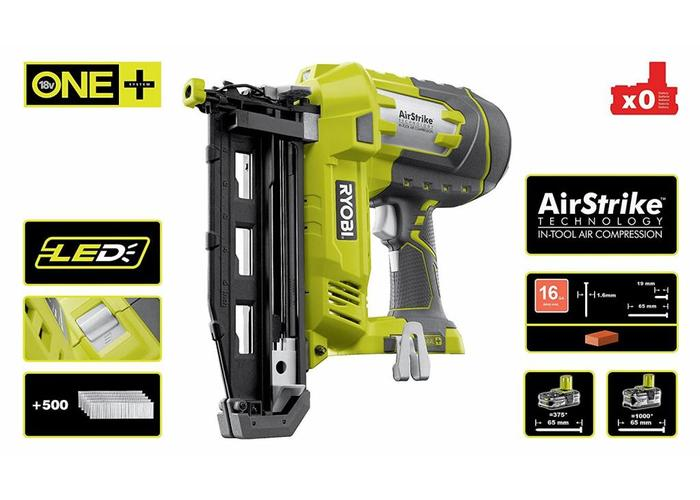 Ryobi ONE + Tacker 16G R18N16G-0 *Body only*